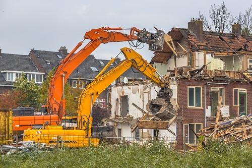 organiser des travaux de démolition à Annecy