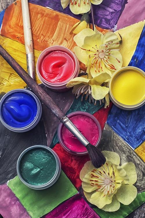 la peinture végétale naturelle